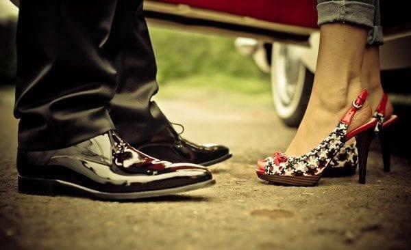 Spot Dreh Schuhe