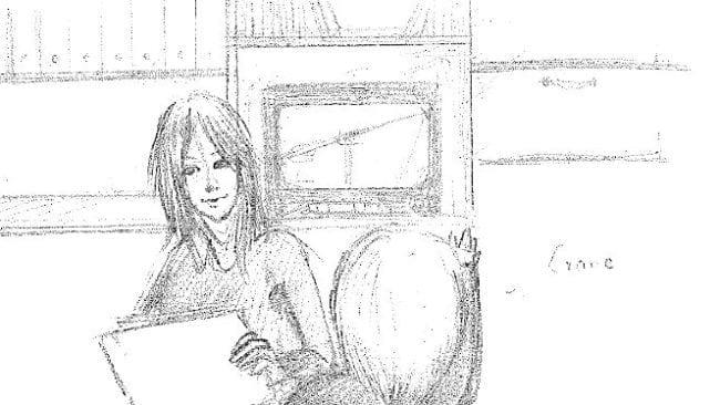 storyboard Frau