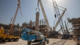 Terex CC8800-1 TWIN Jobstory in Katar - Impressionen von den Dreharbeiten