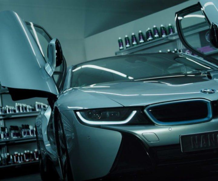 Corporate Design mit Lotus-Effekt: Nanolex-Produktteaser