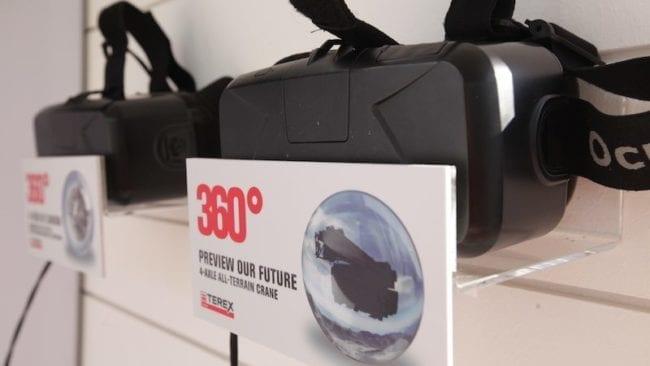 BAUMA VR Brillen