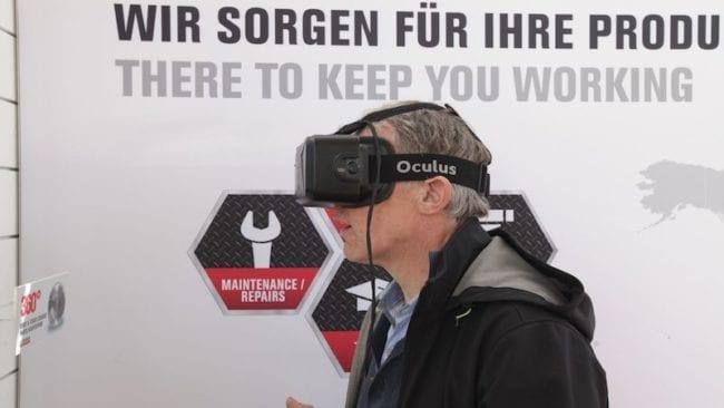 BAUMA VR Brille