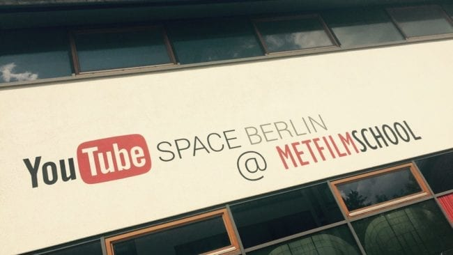 youtube Space Berlin Metfilm school