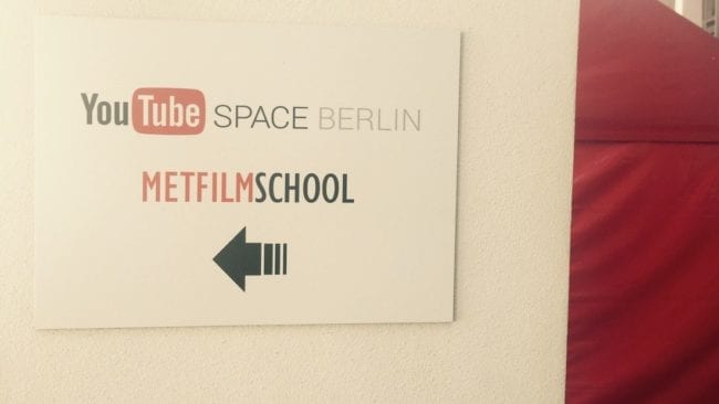 Youtube Space Berlin