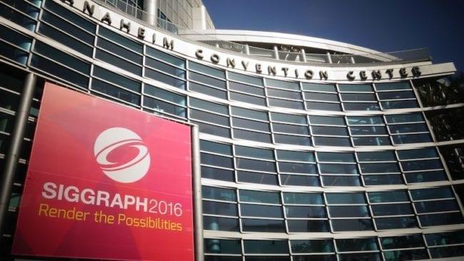 Siggraph 2016 Center