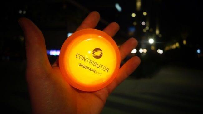 Siggraph 2016 Contributor