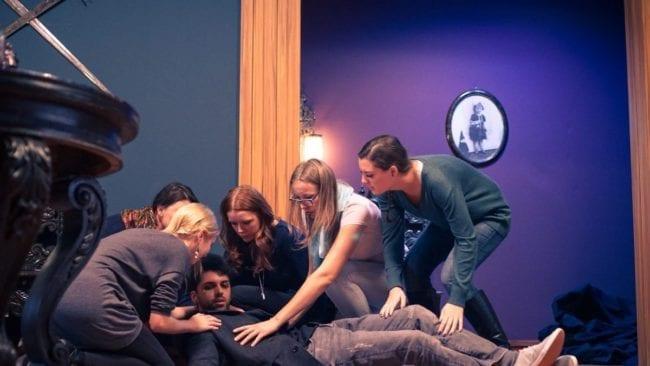 Dr. Strange Set Szene