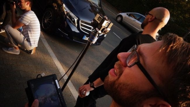 360_video_mercedes_benz Dreharbeiten