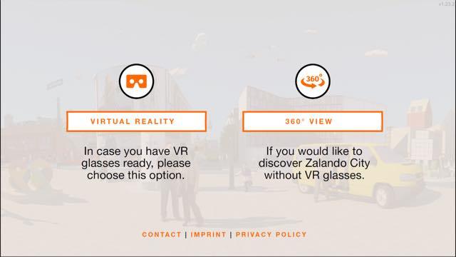 Virtual-Reality-App 360 Grad