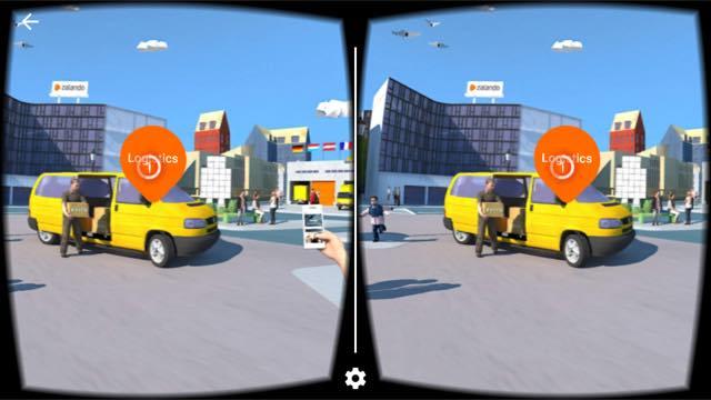 Virtual-Reality-App Zalando