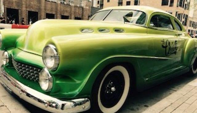 grünes Auto
