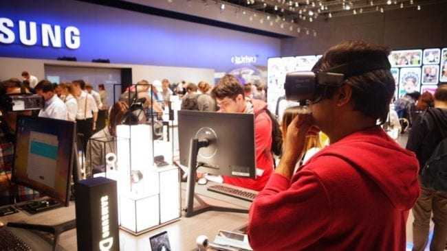 IFA Berlin 2017 VR Brille
