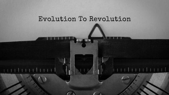 Evolution to Revolution large