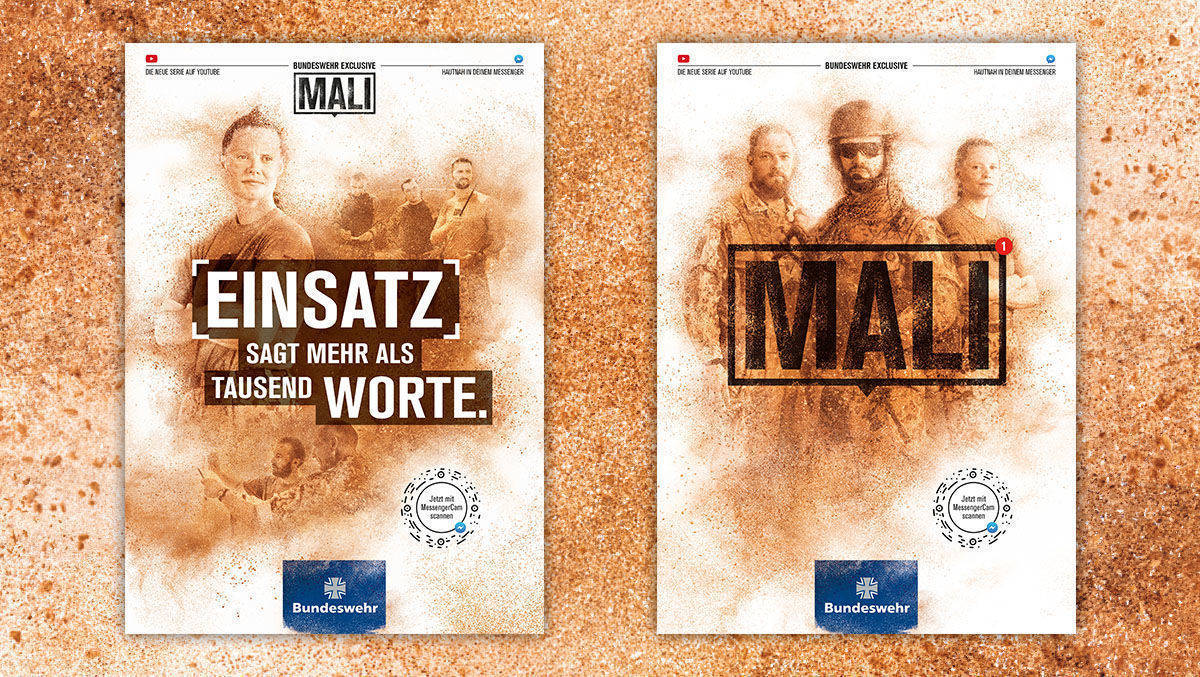 "Bundeswehrserie ""Mali"""