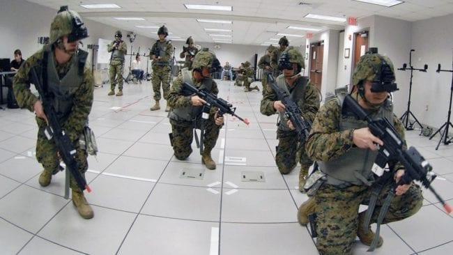 Bundeswehr-Training mit VR