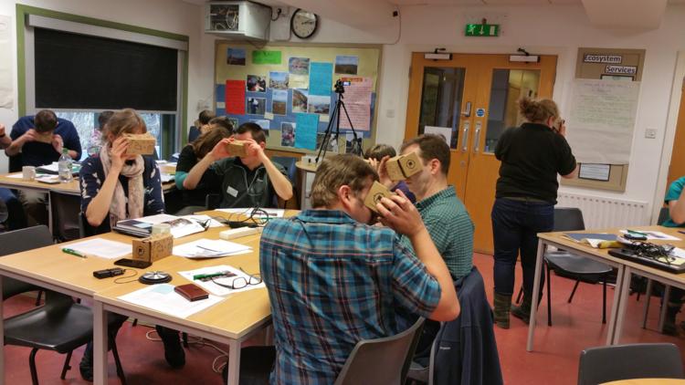 Berufsschule mit VR