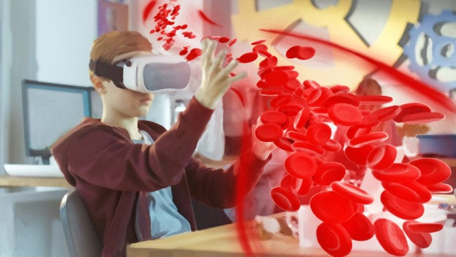 VR-Konzepte mit ungenutztem Potential - Virtuelle Realität der Zukunft: Die virtuelle Schulstunde