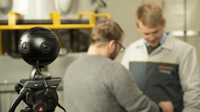 360-Grad-Videoproduktion Insta 360 Pro/ Continental